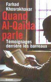 Quand al qaida parle - Intérieur - Format classique