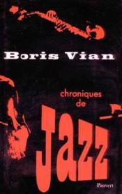 Chroniques de jazz - Couverture - Format classique