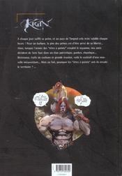 Krän le barbare T.5 ; l'invasion des envahisseurs - 4ème de couverture - Format classique