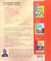 Personne Autiste Et Le Syndrome D'Asperger - 4ème de couverture - Format classique