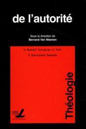 De L Autorite - Couverture - Format classique