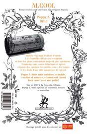 Alcool - 4ème de couverture - Format classique