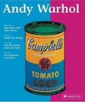 Andy warhol (living art) - Couverture - Format classique