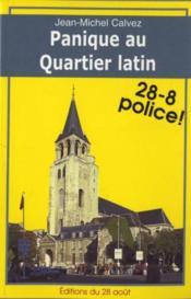 Panique au Quartier latin - Couverture - Format classique