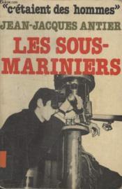 Les Sous Mariniers. - Couverture - Format classique