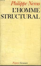 L Homme Structural. - Couverture - Format classique