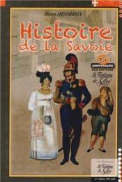 Histoire de la savoie -37eme edition - Couverture - Format classique