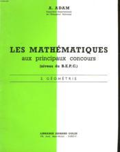 Les Mathematiques Aux Principaux Concours (Niveau B.E.P.C.) - 2 Geometrie - Couverture - Format classique