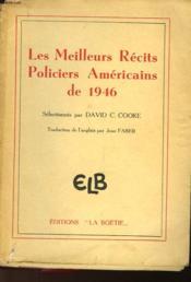 Les Meilleurs Recits Policiers Americains De 1946 - Couverture - Format classique