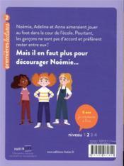 Noémie Broussailles t.4 ; à la conquête de la récré - 4ème de couverture - Format classique