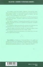 Inference Et Prevision En Grandes Dimensions - 4ème de couverture - Format classique