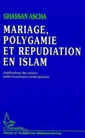 Mariage, Polygamie Et Repudiation En Islam - Intérieur - Format classique
