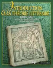 Introduction A La Theorie Litteraire - Couverture - Format classique