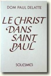Le Christ dans Saint Paul - Couverture - Format classique