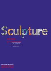 Sculpture ; méthode et vocabulaire - Couverture - Format classique