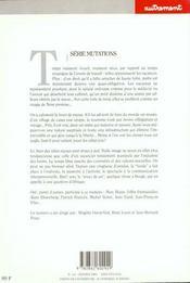 Autrement. 111, Les Vacances : Un Reve, Un Produit, Un Miroir - 4ème de couverture - Format classique