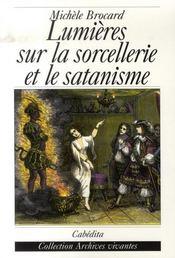 Lumières sur la sorcellerie et le satanisme - Intérieur - Format classique