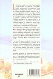 Regime Cretois Et Vitamines. La Sante Avant - 4ème de couverture - Format classique