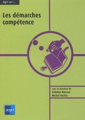 Agir sur...les démarches compétence - Couverture - Format classique