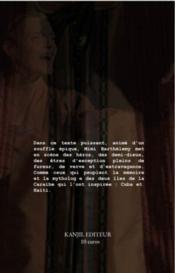 Le fulgurant - 4ème de couverture - Format classique