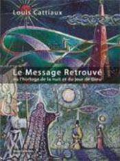 Le message retrouvé - Intérieur - Format classique