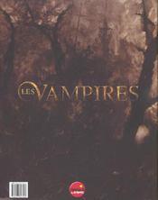 Les Vampires - 4ème de couverture - Format classique