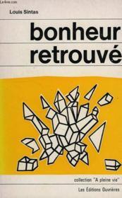 Bonheur Retrouve - Couverture - Format classique