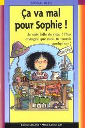 Ca Va Mal Pour Sophie - Intérieur - Format classique