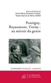 Pontigny, Cerisy, Royaumont : au miroir du genre - Intérieur - Format classique