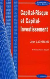 Capital-Risque Et Capital-Investissement - Couverture - Format classique