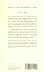 Un singe a moscou babel 574 - 4ème de couverture - Format classique