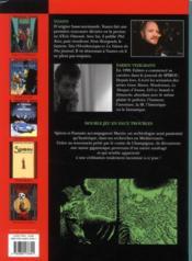 Une aventure de Spirou et Fantasio t.1 ; les géants pétrifiés - 4ème de couverture - Format classique