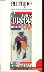 Europe - les formalistes russes n 911 - mars 2005 - Couverture - Format classique