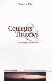 Couleurs & théories ; anthologie commentée - Couverture - Format classique