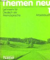 Themen neu 1 ; arbeitsbuch - Couverture - Format classique