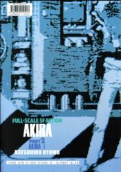 Akira T.2 - 4ème de couverture - Format classique