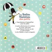 Les belles histoires des petits à lire et à écouter ; recueil - 4ème de couverture - Format classique