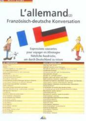 L'allemand - Couverture - Format classique