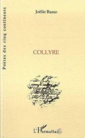 Collyre - Couverture - Format classique