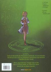 Les démons d'Alexia T.3 ; Yorthopia - 4ème de couverture - Format classique