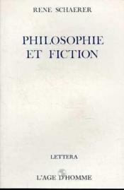 Philosophie Et Fiction - Couverture - Format classique