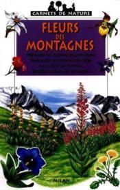 Les fleurs des montagnes - Couverture - Format classique
