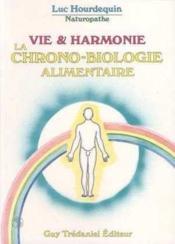 Vie Et Harmonie - Couverture - Format classique