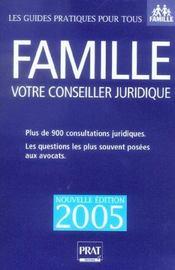 Famille, Votre Conseiller Juridique - Intérieur - Format classique