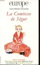 Europe La Comtesse De Segur N914/915 - Couverture - Format classique