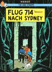 Tim und Struppi t.22 ; flug 714 nach Sydney - Intérieur - Format classique