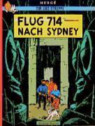 Tim und Struppi t.22 ; flug 714 nach Sydney - Couverture - Format classique