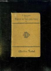 Precis De Therapeutique. Tome 2: Medicaments A Action Elective, Revulsion, Agents Physiques Et Mecaniques. - Couverture - Format classique