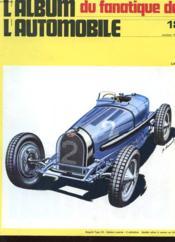 Album Du Fanatique De L'Automobile N°18 - Bugatti Type 59 - Biplace Course - Couverture - Format classique
