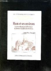 Ham et ses environs - Couverture - Format classique